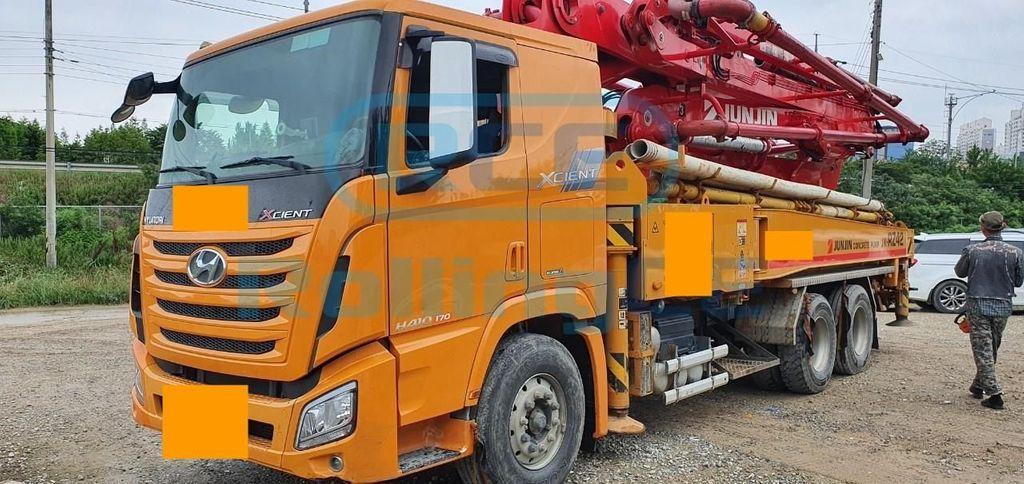 Concrete Pumps 콘크리트 펌프카 Xe bơm bê tông JUNJIN JX-RZ42