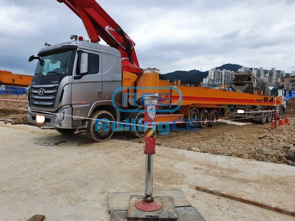 Concrete Pumps 콘크리트 펌프카 Xe bơm bê tông KCP KCP63ZX170