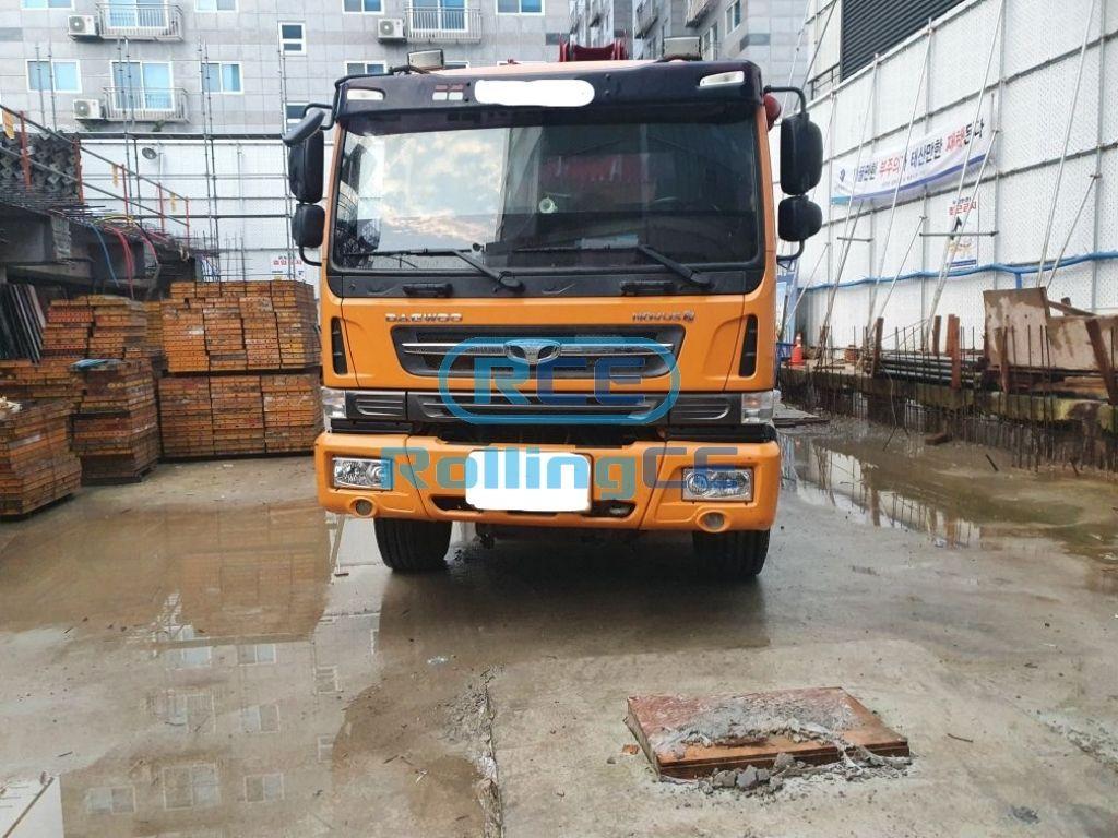 Concrete Pumps 콘크리트 펌프카 Xe bơm bê tông JUNJIN JX-M4517