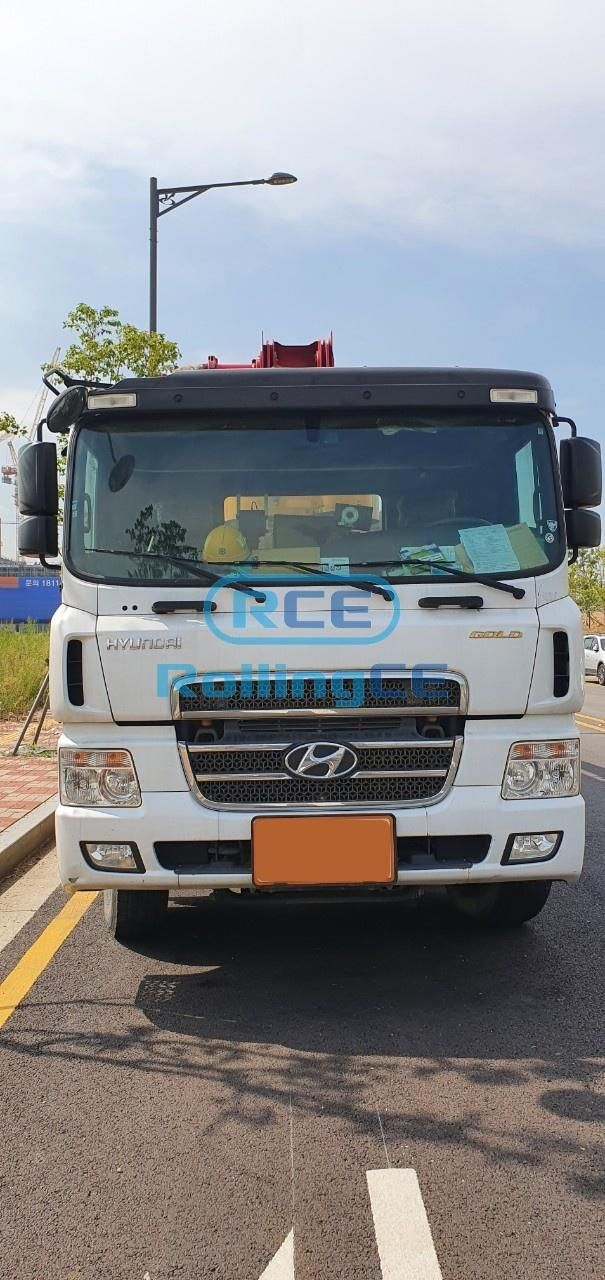 Concrete Pumps 콘크리트 펌프카 Xe bơm bê tông JUNJIN JX-RZ42H