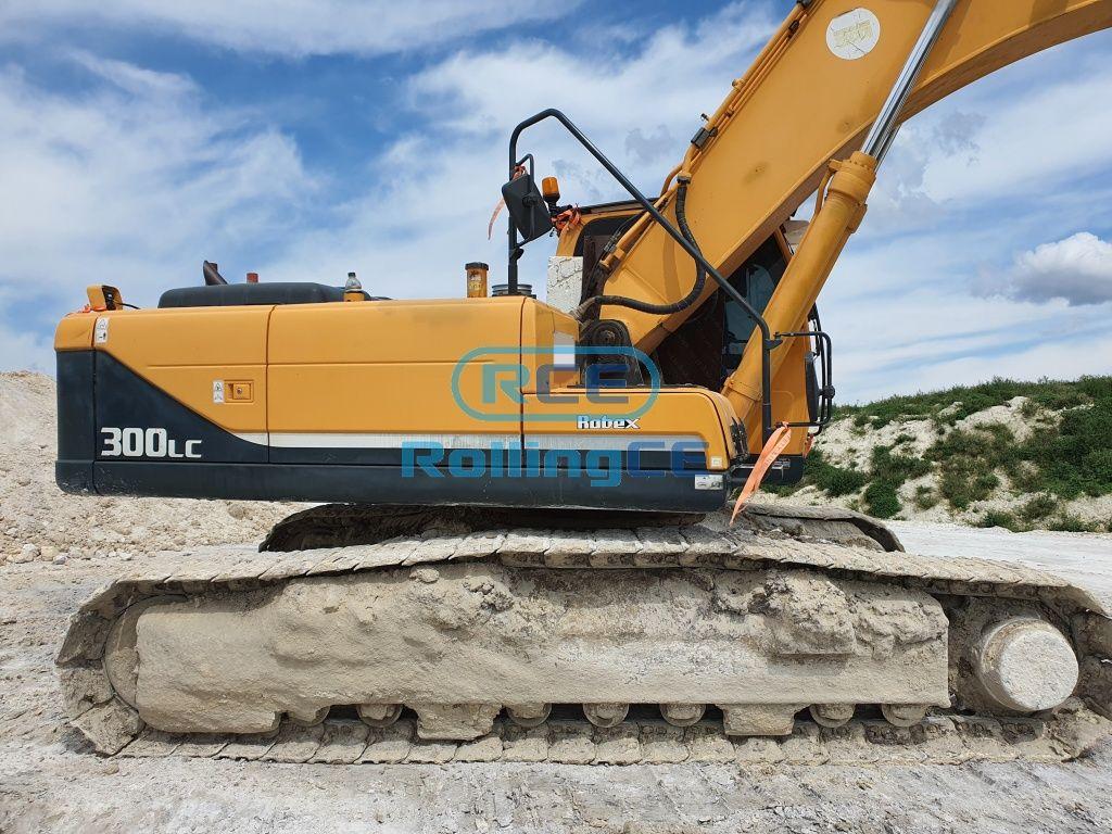 Crawler Excavators 무한 궤도식 굴삭기 Máy xúc bánh xích HYUNDAI R300LC