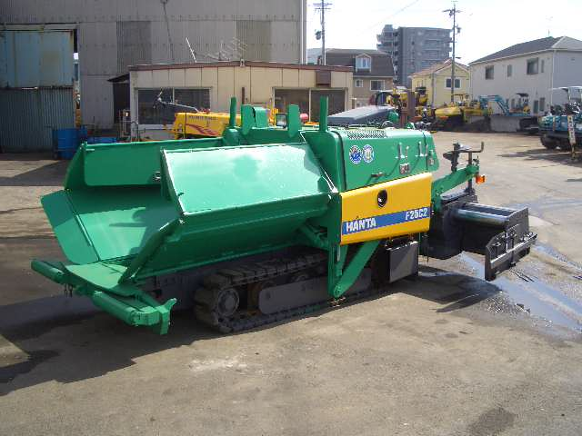 Road Construction Equipments 도로장비 Thiết bị thi công đường HANTA F25C2