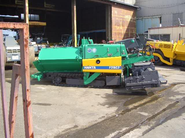 Road Construction Equipments 도로장비 Thiết bị thi công đường HANTA F25C2 images