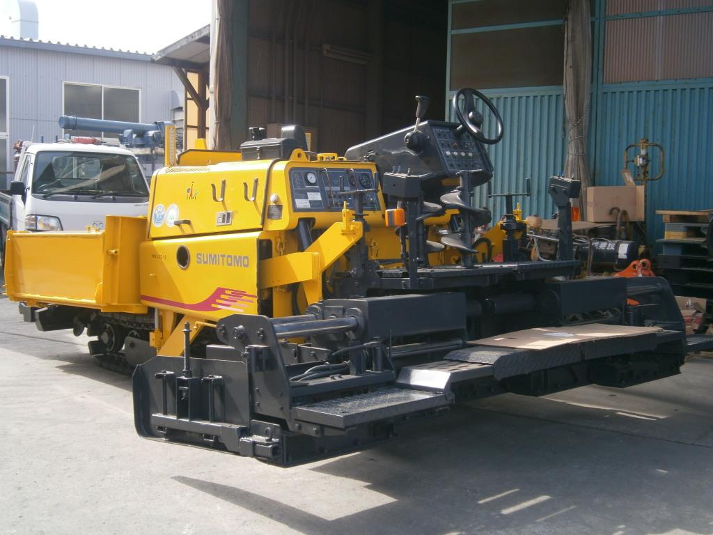 Road Construction Equipments 도로장비 Thiết bị thi công đường SUMITOMO HB30C-3
