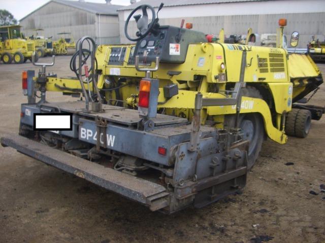 Road Construction Equipments 도로장비 Thiết bị thi công đường HANTA BP40W images