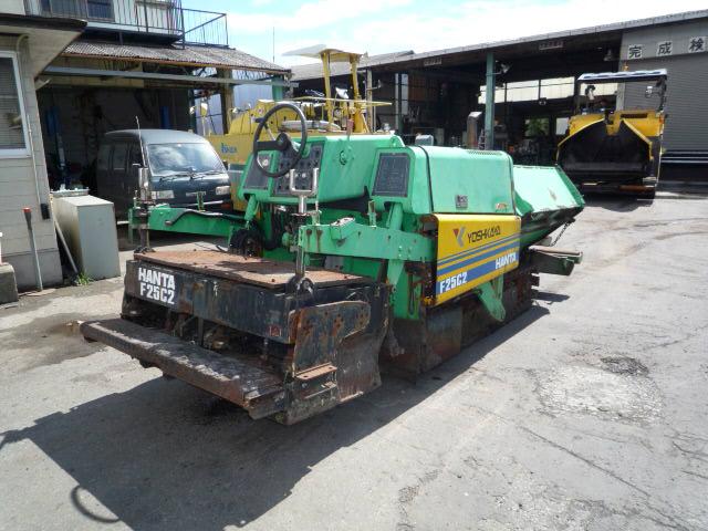 Road Construction Equipments 도로장비 Thiết bị thi công đường HANTA F25C
