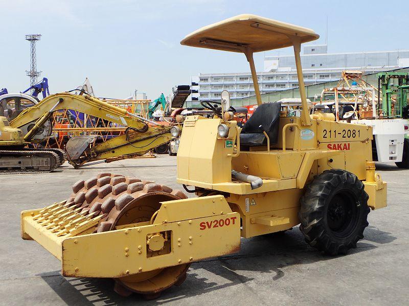 Road Construction Equipments 도로장비 Thiết bị thi công đường SAKAI SV200T