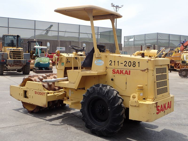 Road Construction Equipments 도로장비 Thiết bị thi công đường SAKAI SV200T images