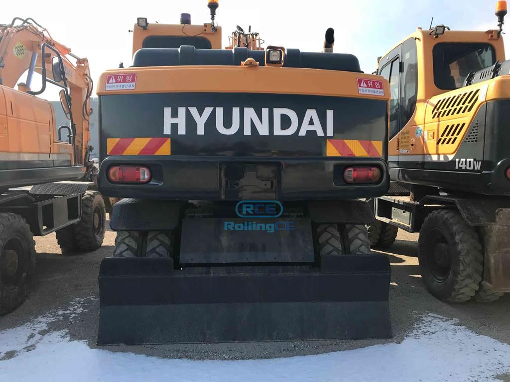 Wheel Excavators 타이어식 굴삭기 Máy xúc bánh lốp HYUNDAI R140W images