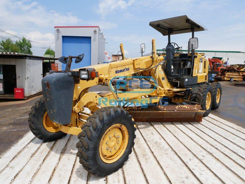 Road Construction Equipments 도로장비 Thiết bị thi công đường KOMATSU GD405A-3