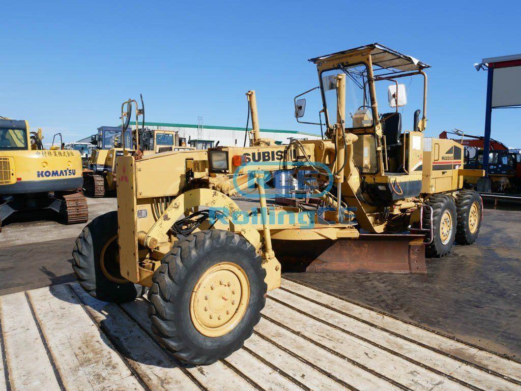 Road Construction Equipments 도로장비 Thiết bị thi công đường MITSUBISHI MG230II