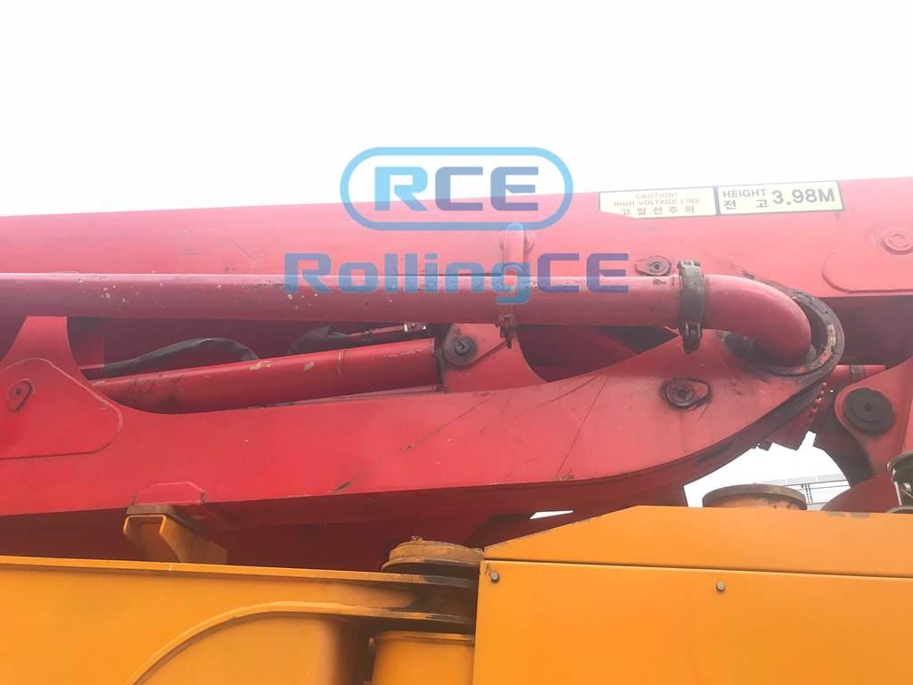 Concrete Pumps 콘크리트 펌프카 Xe bơm bê tông KCP KCP48ZX170 images
