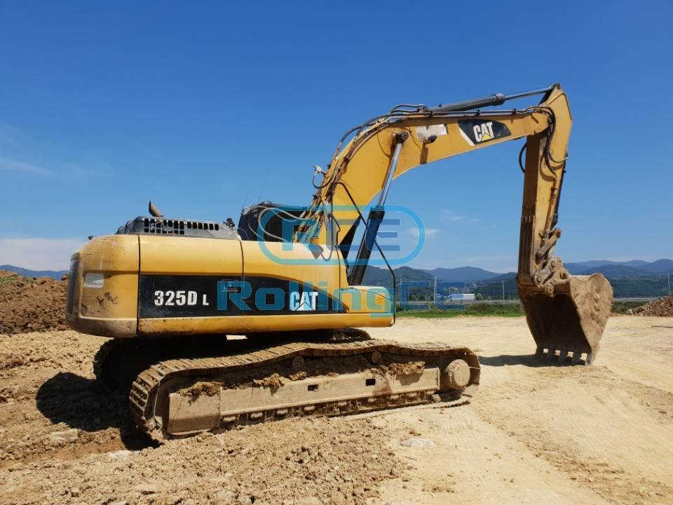 Crawler Excavators 무한 궤도식 굴삭기 Máy xúc bánh xích CATERPILLAR CAT325DL