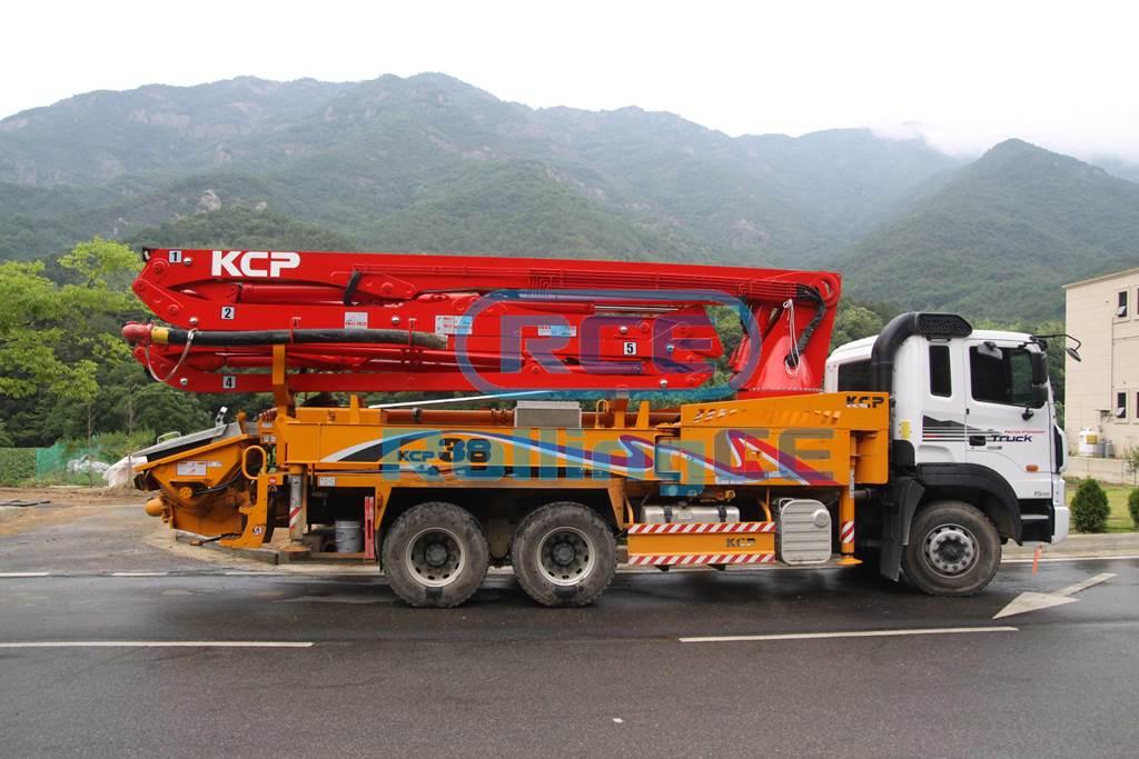 Concrete Pumps 콘크리트 펌프카 Xe bơm bê tông KCP KCP38ZX5170