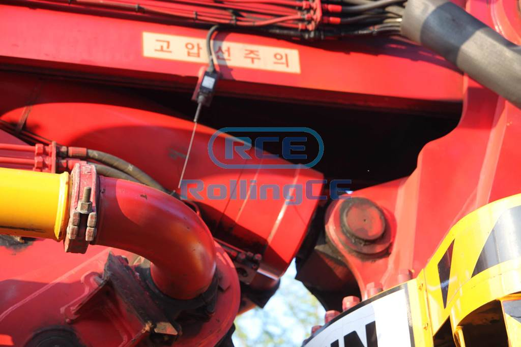 Concrete Pumps 콘크리트 펌프카 Xe bơm bê tông JUNJIN JJ-B5217 images