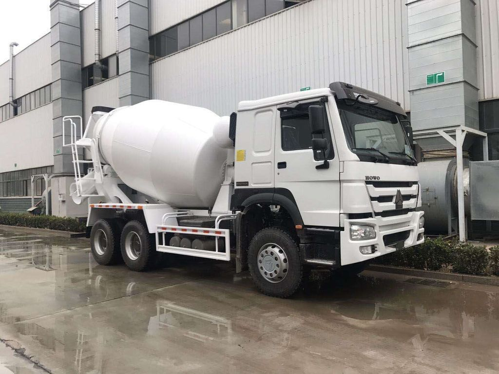 Mixer Trucks 레미콘 Xe trộn HOWO 10M3