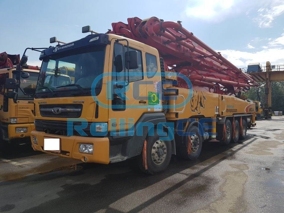 Concrete Pumps 콘크리트 펌프카 Xe bơm bê tông EVERDIGM 60CS-5